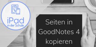 Seiten in GoodNotes kopieren