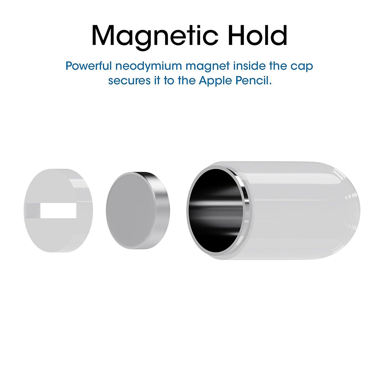 Endlich: Günstige Ersatzkappe / Ersatzdeckel für Apple Pencil 2