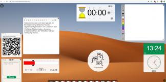 Classroomscreen Interaktives Whiteboard @ iPad in der Schule