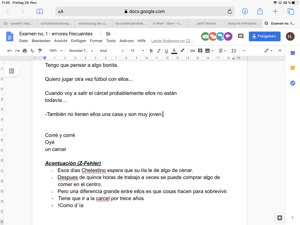 Google Docs Kollaboratives Schreiben