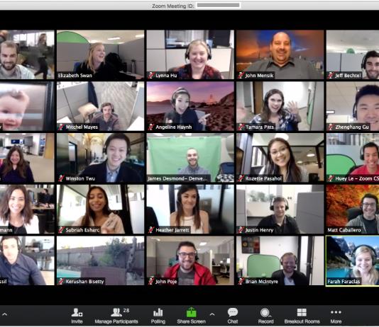 Zoom Videokonferenz Schule Unterricht