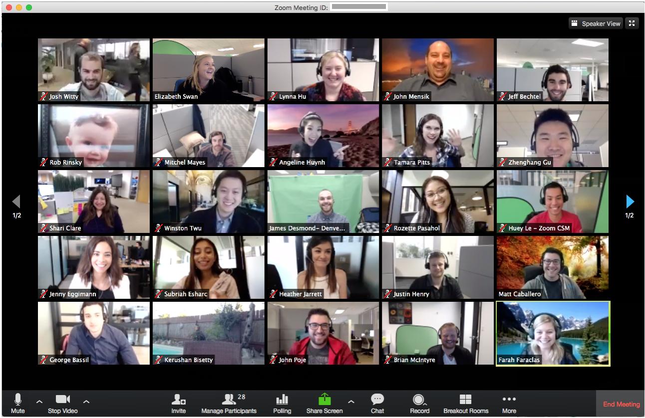 Zoom Videokonferenzen - Top 12 Funktionen