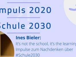 Ines Bieler Impuls 2020 Schule 2030