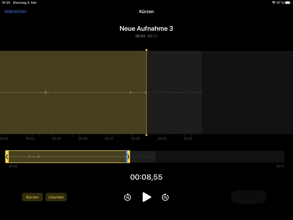 Audiofeedback mit Sprachaufnahmen und QWIQR - individuelle und persönliche Rückmeldungen geben 5