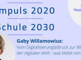 Digitalisierung Schule Corona - Gaby Willamowius