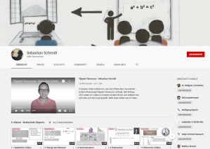 Youtube-Kanal: Flipped Classroom / Sebastian Schmidt
