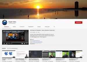 Youtube-Kanal: Jens Lindström Käptn Keks