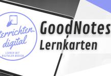 GoodNotes 5 Lernkarten Karteikarten