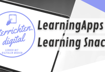 Blended Learning - Learning Apps und Learning Snacks