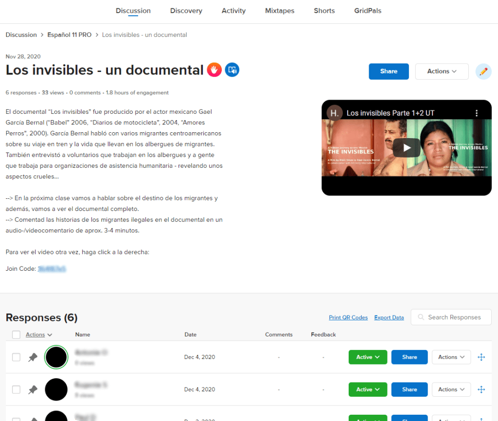 Flipgrid - Video-Response-Plattform für kommunikativen Unterricht 2