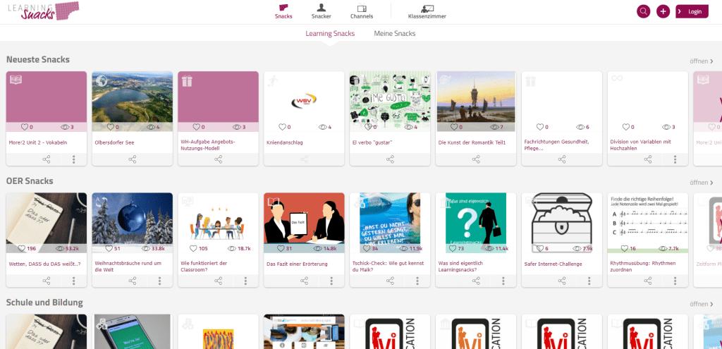 Learning Apps und LearningSnacks - Tools für Üben und Wiederholen im Blended Learning 1
