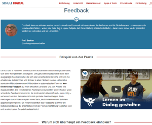 Feedback Schule Digital