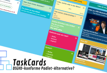 TaskCards - eine Alternative zu Padlet?