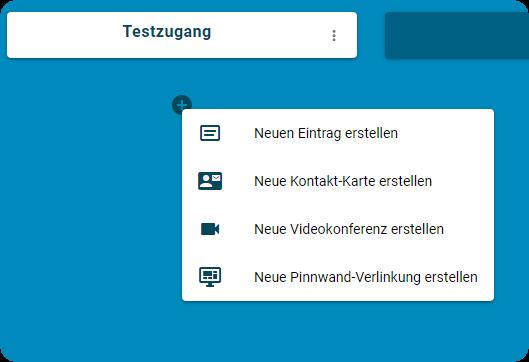 TaskCards - Inhalte per +-Button hinzufügen
